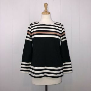 J.CREW Sailor Sweater Engineered Stripe